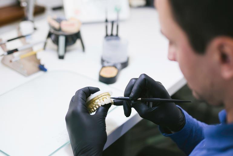 pacifica prosthodontics professional shaping prosthetic teeth